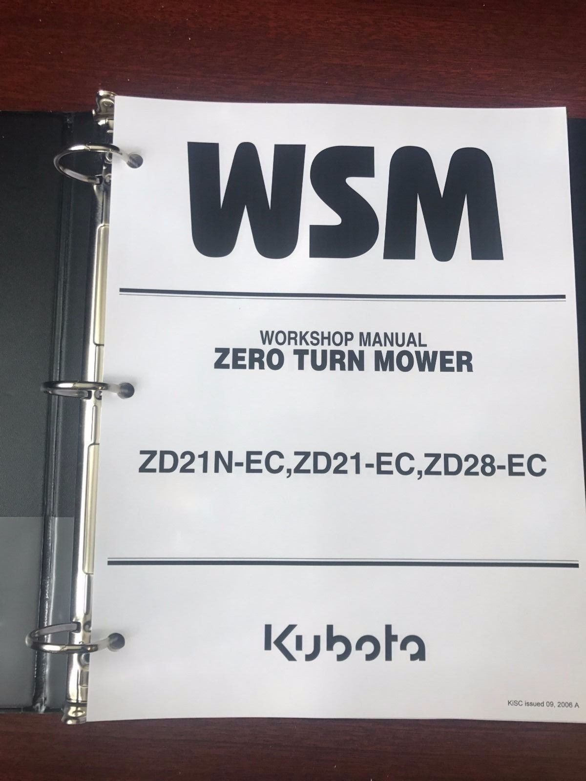 free service manual for kubota zd21