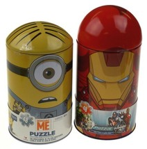 Cardinal Minions Despicable Me & Marvel Iron Man Avengers Capsule Puzzle... - $25.99