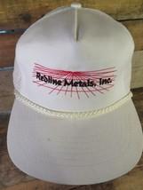 Redline Metals Inc Vintage Trucker Snapback Adult Hat Cap - £16.44 GBP