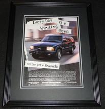 1999 Oldmobile Bravada Framed 11x14 ORIGINAL Advertisement - $34.64