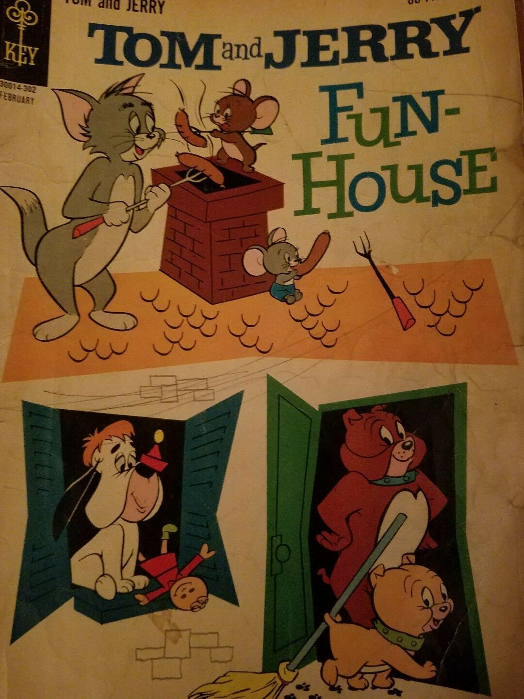 TOM & JERRY  COMIC BOOK