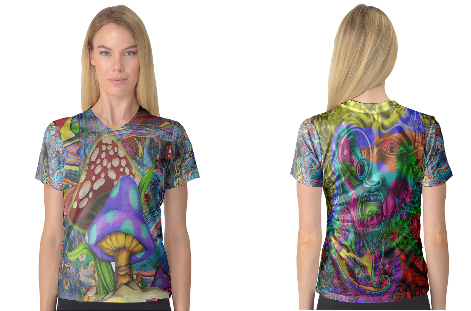 Primary image for DMT Collection #2 Women's V-Neck T-Shirt