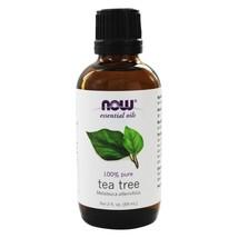 NOW Foods 100% Pure & Natural Aromatherapeutic Tea Tree Oil, 2 Ounces - $20.09