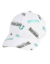 True Religion Men's Metallic Horseshoe Logo Cap Sports Snapback Trucker Hat
