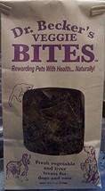 Dr Becker's Veggie Bites Dog & Cat Treats, 4 oz 113g image 1