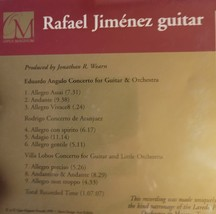 Rafael Jimenez Guitar Cd image 2