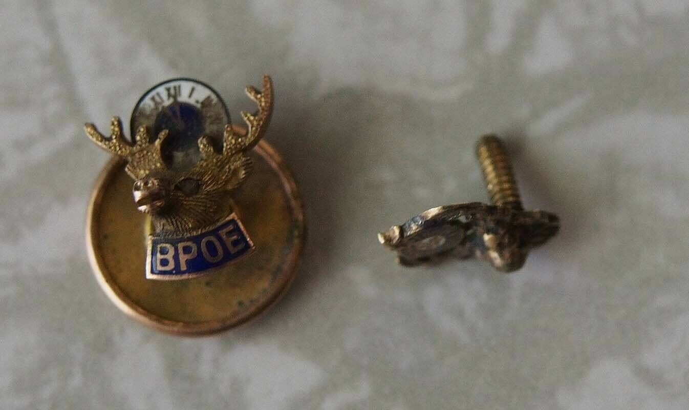 BPOE Lapel Pins Lot Brotherly Paternal Of Elks 1950s