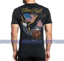 Affliction Chris Kyle CK Heartland A20560 Short Sleeve Graphic T-shirt For Men - $46.00