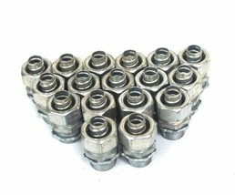 """LOT OF 17 NEW THOMAS & BETTS 1/2"""" NPT X 1/2"""" TUBE CONNECTOR FITTINGS"""