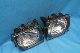 92-96 Mitsubishi Montero JDM Glass Headlights Head Light Lights Set 97 UPGRADE image 4