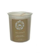 Claire Burke Wild Cotton votive candle 2 OZ - $7.91