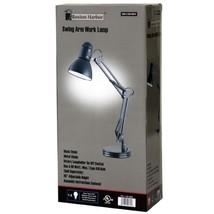 Classic Flexible Metal Desk Lamp Rotary Lampholder Adjustable Height BRA... - $41.48