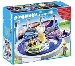 Playmobil 5554 Spinning Spaceship Ride with Lights Building Set  - $94.64