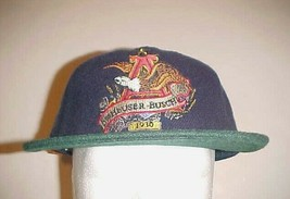 Collector's Edition Anheuser Busch 1930 Adult Unisex Blue Green Trucker ... - $29.69