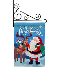 Santa with Friends - Impressions Decorative Metal Fansy Wall Bracket Gar... - $27.97