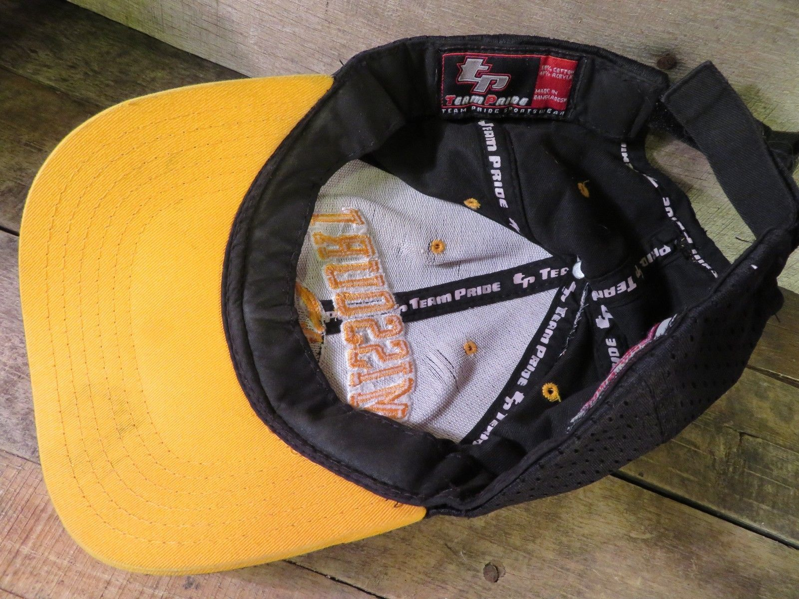 huge discount cf590 e2ed6 MISSOURI Tigers Mizzou Adjustable Adult Hat Cap