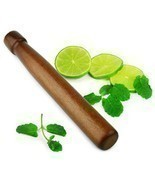 "8"" Wood Drink Muddler Mojito Bar Supplies Cocktail Infusion Mixologist - £5.46 GBP"