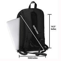 Work Laptop Backpack, ARUNGOR Black Travel Backpack for Men & Women with Laptop  image 4