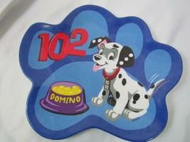 Walt Disney 102 Dalmatians Domino Child's Plate - $14.24