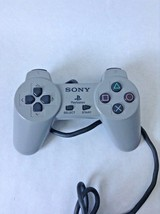 OEM Original Sony PSOne PlayStation 1 PS1 Dual Shock White Controller PS... - $12.59