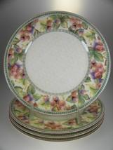 Fitz And Floyd Sonoma Garland Salad Plates Set of 4 - $42.97