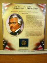 Millard Filmore United States Presidents Coin Postal Commemorative Society - $8.09