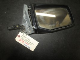 86 87 MAZDA 626 RIGHT PASSENGER SIDE VIEW MIRROR BLACK MISSING COVER SEE... - $24.75