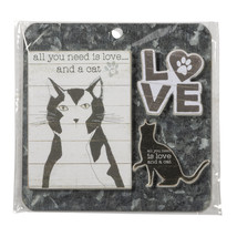 PBK Pet Decor - All You Need is Love Cat Magnet Memo 3pc.Set - $10.95