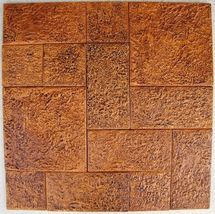 3 TILE MOLDS MAKE 100s OF 12x18 TILES @ $0.35 SQ. FT. FOR CONCRETE FLOORS WALLS image 3