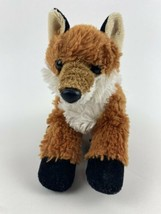 "Aurora Foxie Floppy Fox Mini Plush Stuffed Animal 9"" Long bean bag feet ... - $12.86"