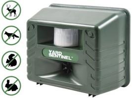Yard Sentinel Outdoor Electronic Pest Animal Ultrasonic Patio Lawn Pest ... - $37.21