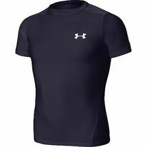 Under Armour Heatgear Short Sleeve T Shirt - Boy's Youth Medium orange - $19.75