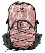 Pink Mossy Oak Backpack Bottomland Camouflage Day Pack Camo Travel Bag  ... - $21.53