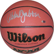 Kareem Abdul-Jabbar signed Wilson NCAA Indoor/Outdoor Replica Game Baske... - $229.95