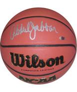 Kareem Abdul-Jabbar signed Wilson NCAA Indoor/Outdoor Replica Game Baske... - $229.95