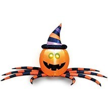 Joiedomi Halloween Pumpkin Spider Inflatable for Halloween Yard Decor Ou... - €36,95 EUR