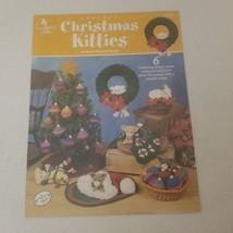 Crochet Christmas Kitties Annie's Attic 6 patterns - $18.68