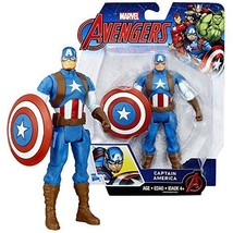 Marvel Year 2016 The Avengers Series 6 Inch Tall Action Figure - CAPTAIN... - $27.99