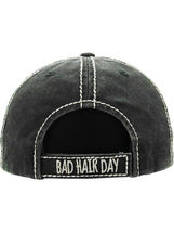 Distressed Vintage Style Bad Hair Day Hat Baseball Cap Runner Active Wear image 3