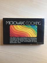 Vintage 1976 Microwave Cooking cookbook - soft cover image 6