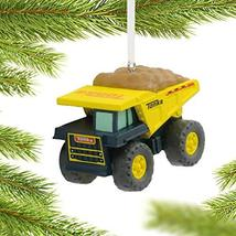 Tonka Dump Truck Christmas Ornament - $15.82