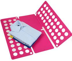 LARGE Flip Fold Clothes Folder Laundry Organizer PINK - $24.99