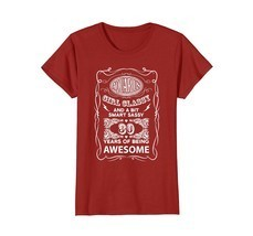 Funny Shirts - Aquarius girl smart 30 years of being awesome birthday ts... - $19.95