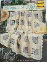 Bouquet Of Afghans: crochet patterns, Terry Kimbrough  LA2839 Leisure Arts - $7.99