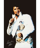 Elvis Presley Early 1970's Las Vegas Style Poster Stand-Up Display - $15.99