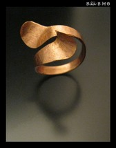 Fabricated WrapAround Artist made Custom COPPER Jewelry Art RING - Size ... - $85.00