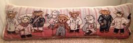 Mary Hulgan  Pillow Career Bears Occupation Doctor Teacher Farmer Maid Nice - $28.04