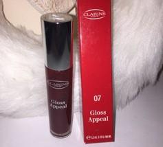 Clarins Gloss Appeal Lip Gloss ~ 07 Grape ~Full Sz 0.18 oz ~New In Box~ - $17.28