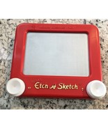 ETCH A SKETCH TRAVEL Vintage 1991 Ohio Art 555 90s Toy  - $11.83