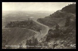 Switchbacks Broadmoor Real Photo Postcard Colorado Cheyenne Highway CO RPPC - $19.99
